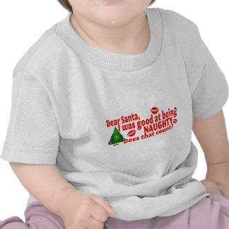 Navidad travieso camiseta
