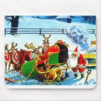 Navidad trineo y reno tapetes de raton