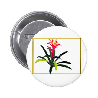 Navidad tropical Bromeliad Pin
