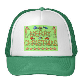 Navidad tropical del filón gorra