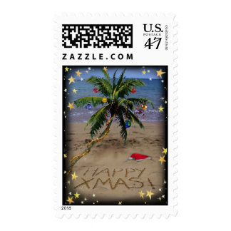 Navidad tropical sello