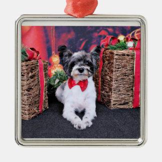 Navidad - Tucker - Yorkie X Ornamentos De Navidad
