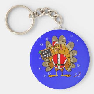 Navidad Turquía Llaveros Personalizados