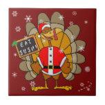 Navidad Turquía Teja Cerámica