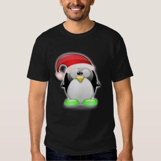 Navidad Tux Playeras