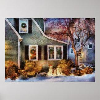 Navidad - un momento de la familia posters