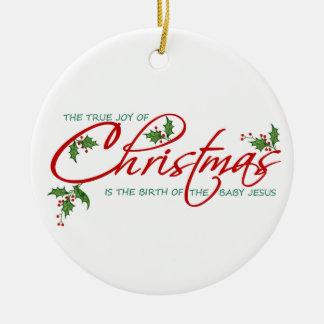 Navidad verdadero ornato