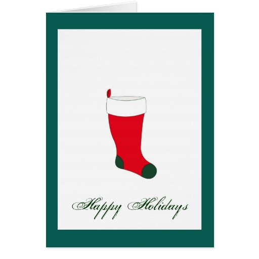 Navidad verde del acebo que almacena la tarjeta de
