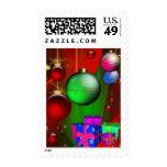 Navidad verde del navidad de los sellos
