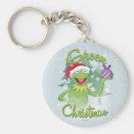 Navidad verde llavero personalizado