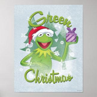 Navidad verde póster