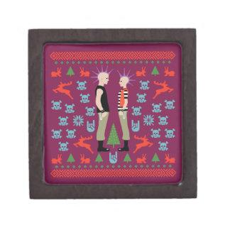 Navidad vicioso caja de recuerdo de calidad