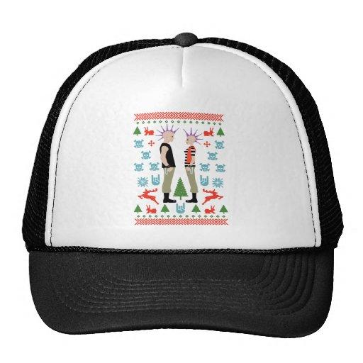 Navidad vicioso gorras de camionero
