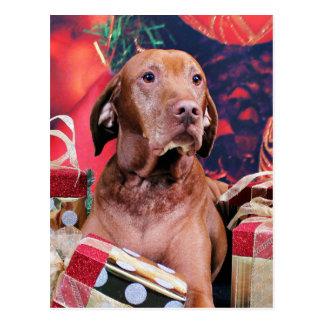 Navidad - Vizsla - Budda Postal