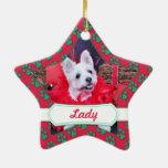 Navidad - WestieJack - señora Ornamentos De Reyes Magos