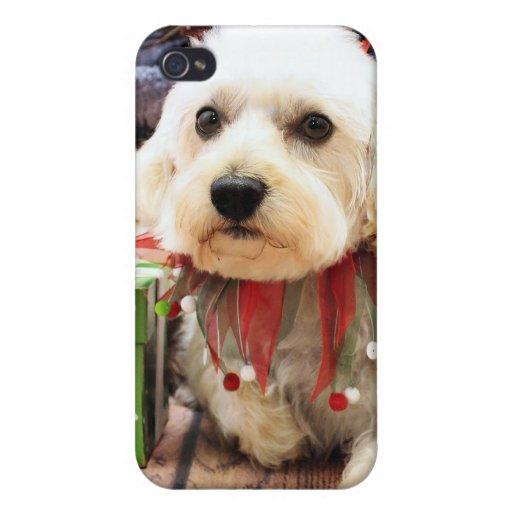Navidad - Westiepoo - Elliott iPhone 4 Funda