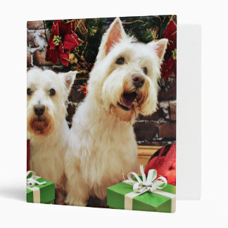 Navidad - Westies - Bailey y Callie