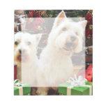 Navidad - Westies - Bailey y Callie Bloc