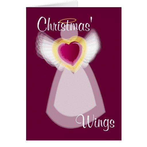 Navidad Wngs - personalizar Tarjeta De Felicitación