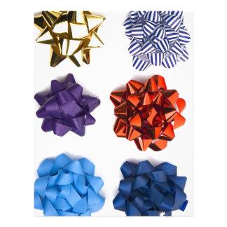 Navidad y arcos decorativos plantilla de membrete