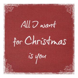 Navidad y cita lindos del amor cuadro