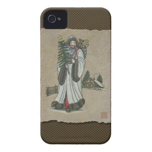 Navidad y juguetes del padre Case-Mate iPhone 4 cárcasas