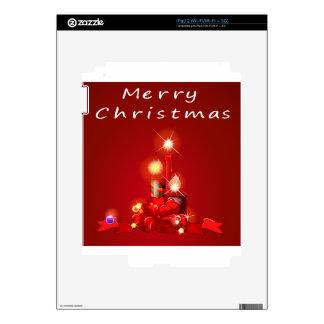 Navidad y velas skins para eliPad 2
