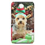 Navidad - Yorkie - Vinnie #32 iPod Case-Mate Protector