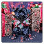 Navidad - YorkiePoo - Lucy Relojes