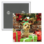 Navidad - Yorkshire Terrier - Vinnie Pin