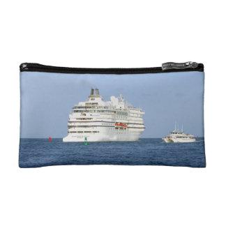 Navigating the Seas Cruise Travel Cosmetics Bags