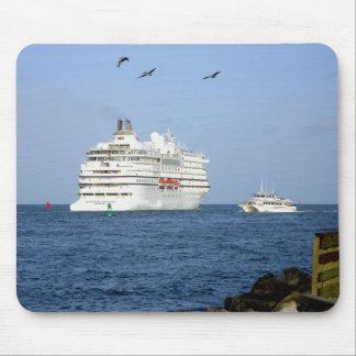 Navigating the Seas Mouse Pad