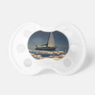 Navigating Trough Clouds Dreamy Collage Photo BooginHead Pacifier