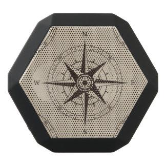 Navigation Compass Pattern Black Bluetooth Speaker