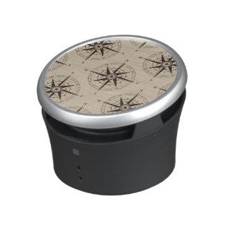 Navigation Compass Pattern Speaker