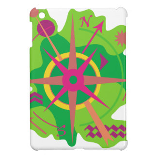 Navigation - green iPad mini case