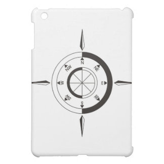 Navigation / sailing gift: Ship & airplane compass iPad Mini Cover