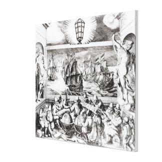 Navigation Titlepage, 1600 Stretched Canvas Print