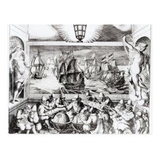 Navigation Titlepage, 1600 Postcard