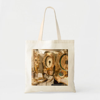 Navigational Gauges And Instruments On Submarine Tote Bag