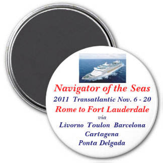 NAVIGATOR OF THE SEAS FRIDGE MAGNETS