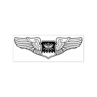 Navigator WSO Wings Crafting Rubber Stamp