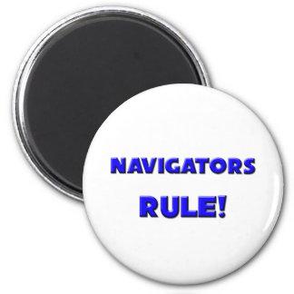 Navigators Rule! 2 Inch Round Magnet