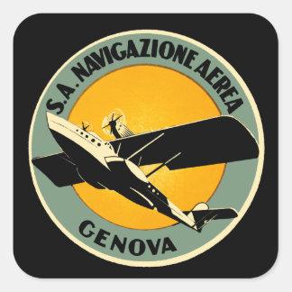 Navigazione Aerea ~ Genova Sticker