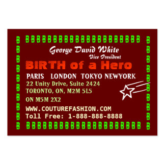 NAVIN JOSHI Collection Large Business Card