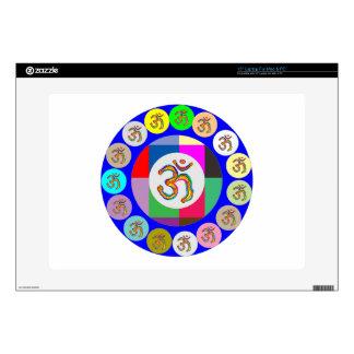 navinJOSHI 1 de la meditación de la yoga del canto 38,1cm Portátil Calcomanía