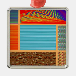 NAVINOgraph Signature Colorful Art Collage Ornaments