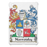 Navrotsky Family Crest Cover For The iPad Mini