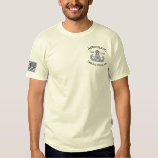 NAVSCOLEOD Master Embroidered T-Shirt