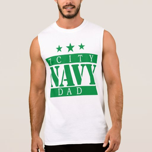 NAVY 7 City Shirt - Green Logo